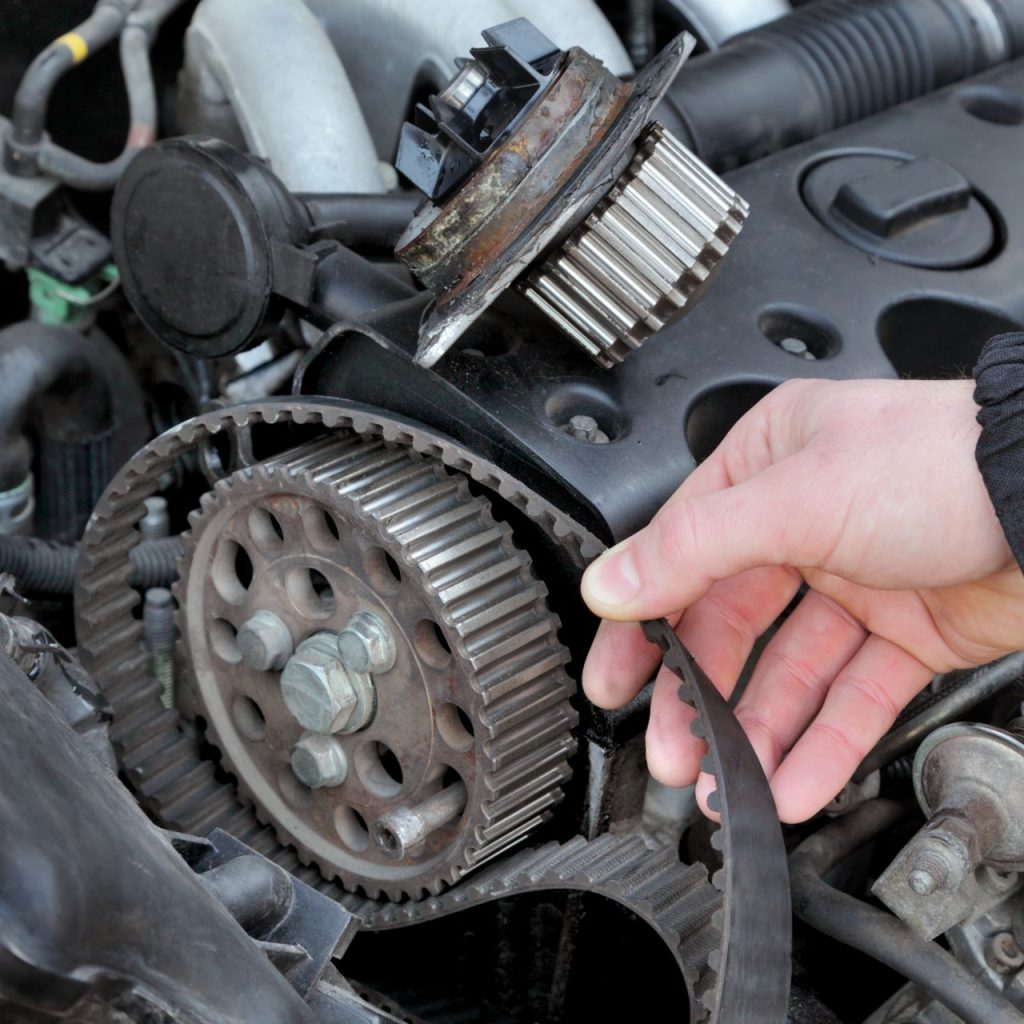 Replacing a timing belt