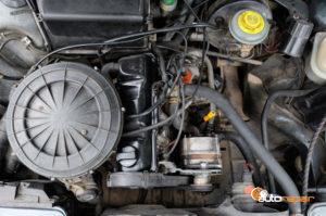 photo of rebuilt engine
