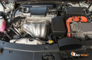 Photo of hybrid car battery